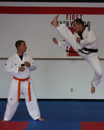 First Taekwondo- June 17