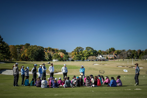 LPGA Clinic UNC womens golf