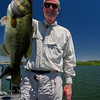 Bob with a bass caught on the San Joaquin River in the Sacramento Delta. August 3, 2016