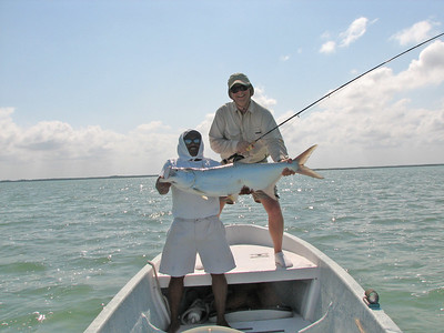 Belize Mothership Fishing Tour  May, 2006