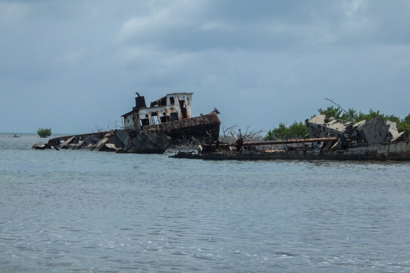 Wreck, Jardines De La Reina (Gardens of the Queen), Cuba, Fishing Trip 2016.