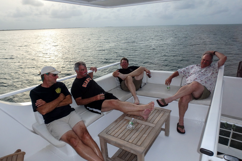 Relaxin on the Avalon II, Gardens of the Queen, Cuba Fishing Trip 2016