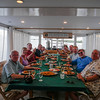 Farewell dinner, Avalon II, Gardens of the Queen, Cuba Fishing Trip 2016