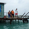 Attendants at Lobster trap storage, Jardines De La Reina (Gardens of the Queen), Cuba, Fishing Trip 2016.