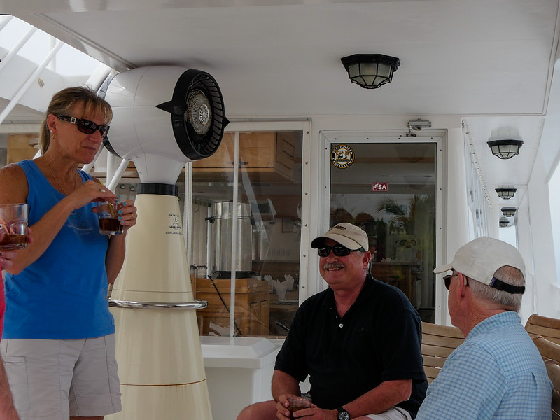 Aboard the Avalon II, Cuba, Fishing Trip 2016.