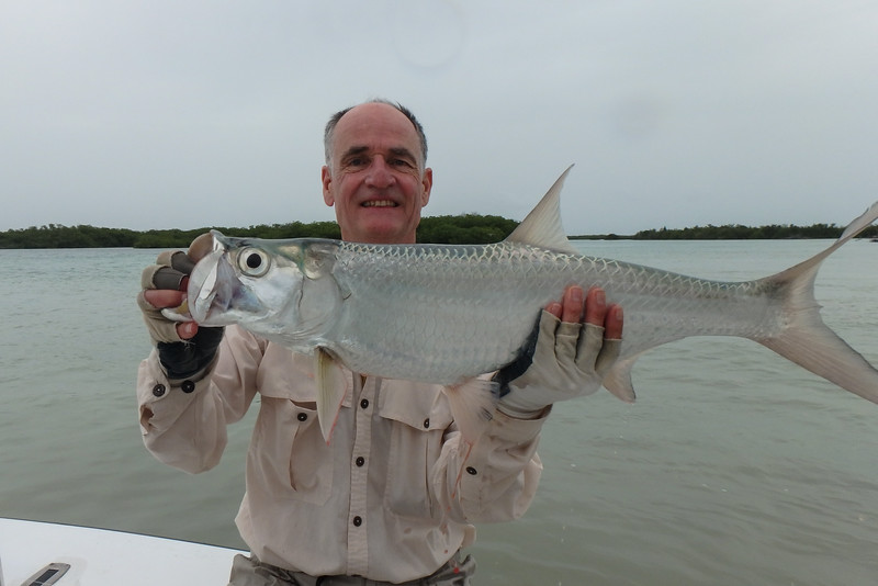 My first tarpon, Jardines De La Reina (Gardens of the Queen), Cuba, Fishing Trip 2016.