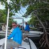 Lunchtime among the mangroves, Jardines De La Reina (Gardens of the Queen), Cuba, Fishing Trip 2016.