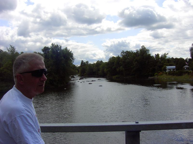 Tony & Chateauguay River
