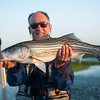 13 pound Striper caught in the San Francisco Delta  with Bobby Barrack, June 6, 2014