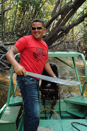 The Guides of Aqua Boa Amazon Lodge, 11-2009