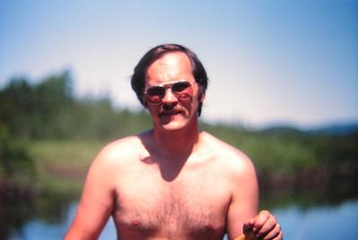 canoing the Saranac, july 3, 1978