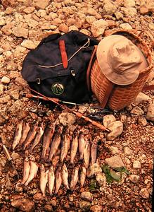 fishing N Fk Bouquet River, june 1979