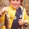 David's 1st trout,BoyScoutPd,RayBrook,NY,june1980