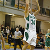 Fitchburg State University women's basketball played Mount Ida on Tuesday night at home. FSU player Megan Wodzinski puts up a shoot during the second half of the game. SENTINEL & ENTERPRISE/ JOHN LOVE