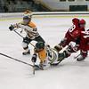 FSU Corey Hayashi gets tripped up by Garrett Brazzier