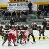 Fitchburg and Hopkinton face-off during Friday's Mark Bushnoe Memorial Christmas Tournament at the Fitchburg State University Wallace Civic Center.<br /> SENTINEL & ENTERPRISE / BRETT CRAWFORD