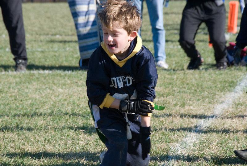 Flag football -- Justin Clark (WJHS - Wyngate)