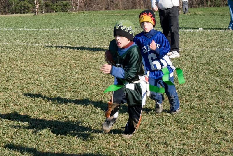 Flag football -- Brian Fisher (Whitman - Braqdley Hills)