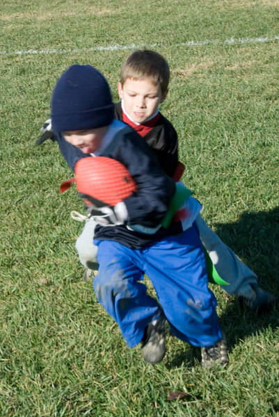 Flag football -- Mike Ridgway (BCC - Parkwood)
