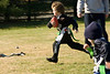 Flag football -- Hunter Band of Potomac races towards the goal line.