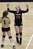 Sept, 21, 2017 Flemingsburg, FCHS girls volleyball vs Russell.