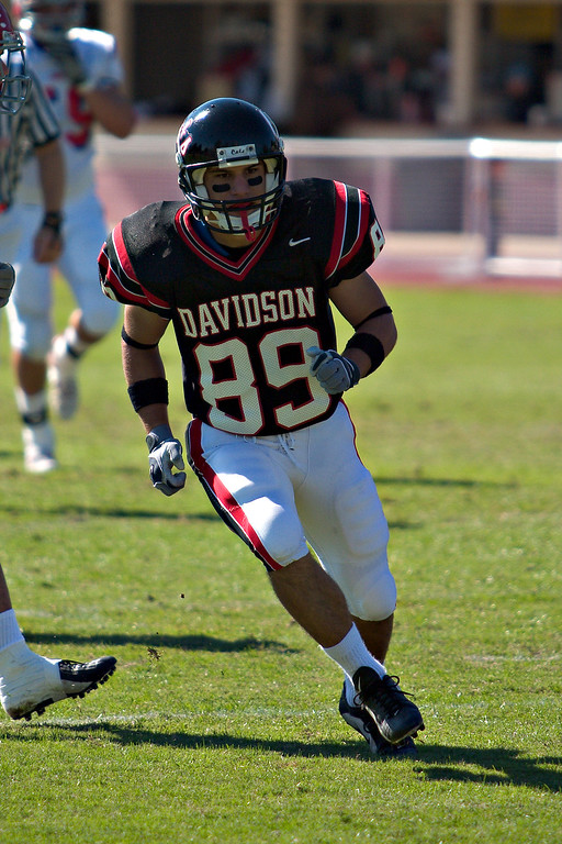 davidson college wildcats versus dayton flyers football ncaa sports photos