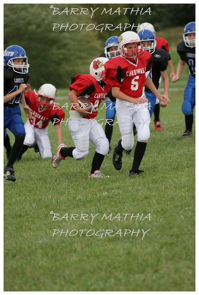 Lawson Cardinals Pop Warner vs Liberty 06 044