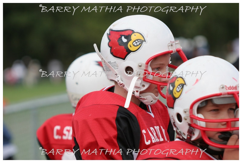Lawson Cardinals Pop Warner vs Liberty 06 014