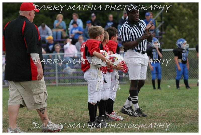 Lawson Cardinals Pop Warner vs Liberty 06 018