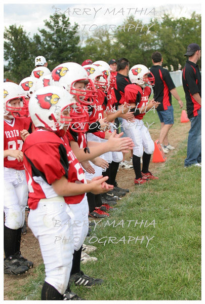 Lawson Cardinals Pop Warner vs Liberty 06 011
