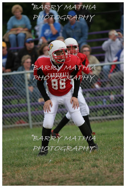 Lawson Cardinals Pop Warner vs Liberty 06 034