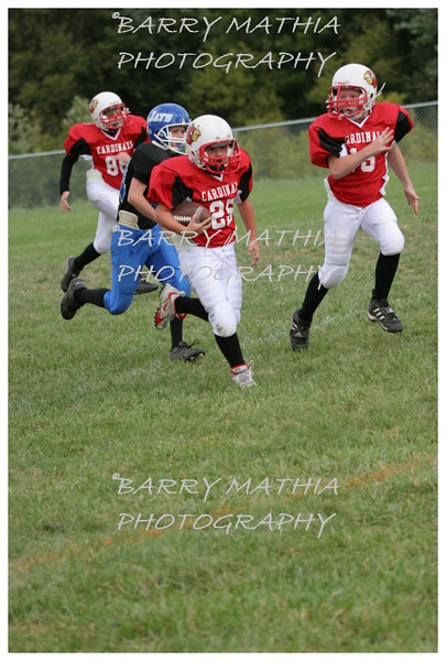 Lawson Cardinals Pop Warner vs Liberty 06 051