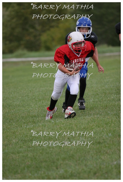 Lawson Cardinals Pop Warner vs Liberty 06 043