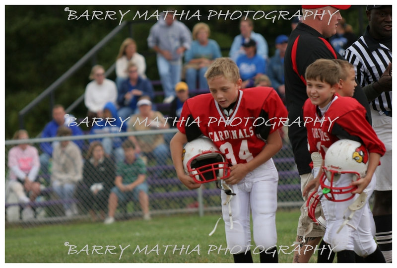 Lawson Cardinals Pop Warner vs Liberty 06 022
