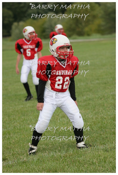 Lawson Cardinals Pop Warner vs Liberty 06 031