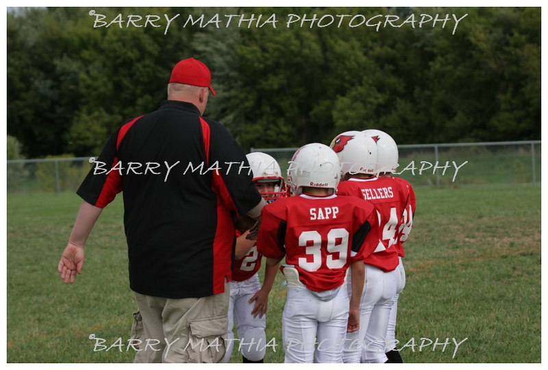 Lawson Cardinals Pop Warner vs Liberty 06 002