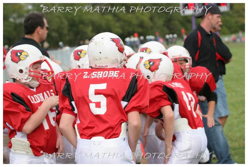 Lawson Cardinals Pop Warner vs Liberty 06 015