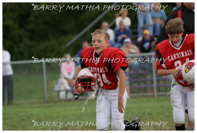 Lawson Cardinals Pop Warner vs Liberty 06 023