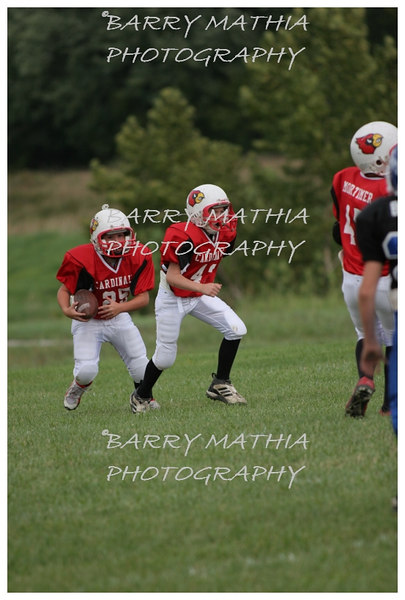 Lawson Cardinals Pop Warner vs Liberty 06 036