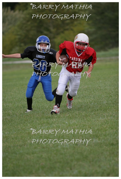 Lawson Cardinals Pop Warner vs Liberty 06 042