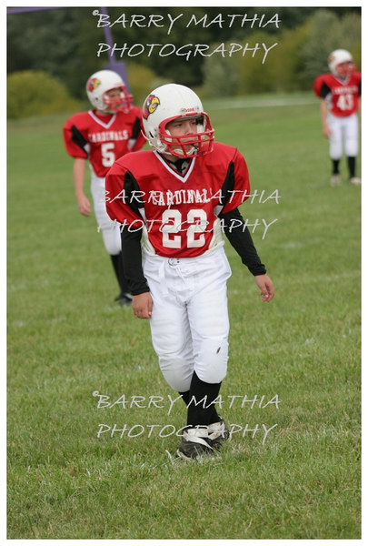 Lawson Cardinals Pop Warner vs Liberty 06 032