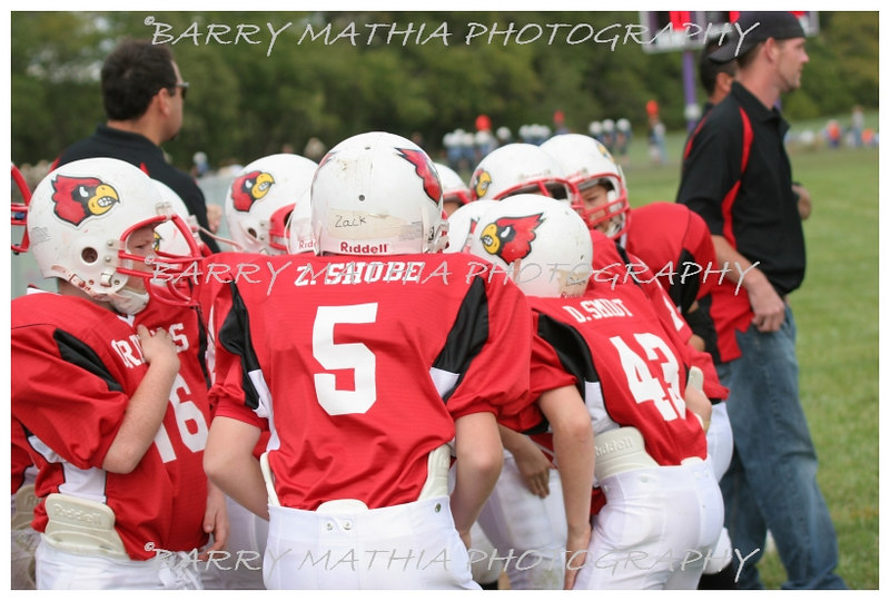 Lawson Cardinals Pop Warner vs Liberty 06 016