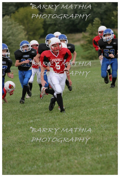 Lawson Cardinals Pop Warner vs Liberty 06 045