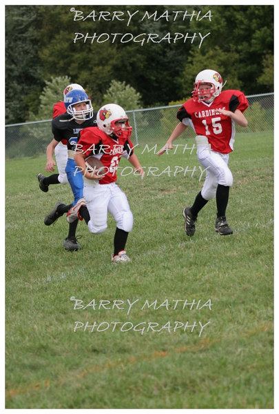 Lawson Cardinals Pop Warner vs Liberty 06 050