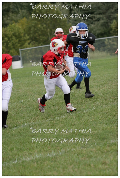 Lawson Cardinals Pop Warner vs Liberty 06 048