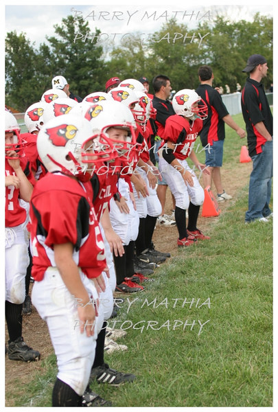 Lawson Cardinals Pop Warner vs Liberty 06 010