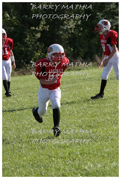 Lawson Cardinals Pop Warner vs Liberty 06 1019