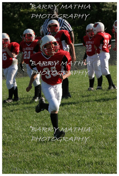 Lawson Cardinals Pop Warner vs Liberty 06 1038
