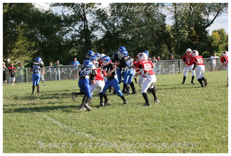Lawson Cardinals Pop Warner vs Liberty 06 1052