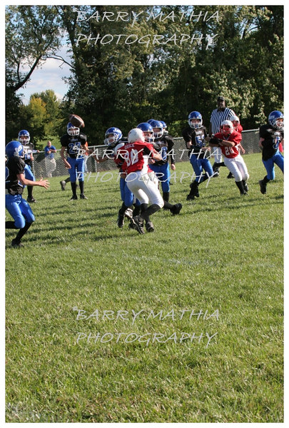 Lawson Cardinals Pop Warner vs Liberty 06 1042